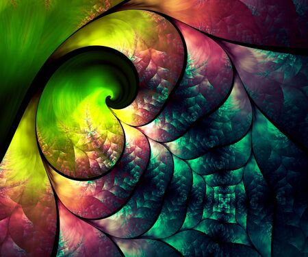 Computer generated fractal artwork for creative art,design and entertainment Stock Photo - 81719157