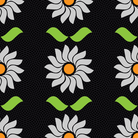 Ornament pattern vector tile for multipurpose use in design Illusztráció