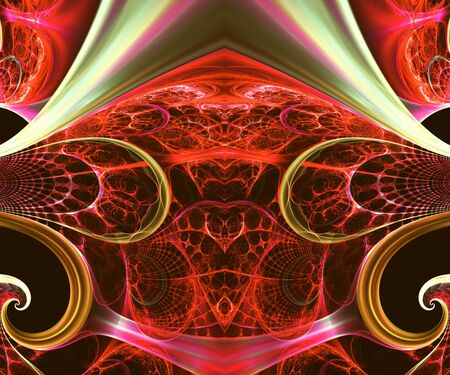 Computer generated fractal artwork for creative art,design and entertainment Stock Photo - 86057778