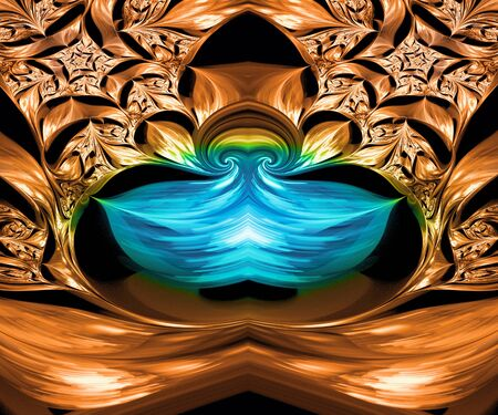 Computer generated fractal artwork for creative design and entertainment Stock Photo - 86555054