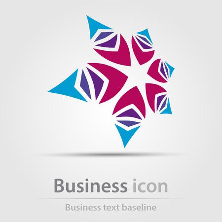 Originally created business icon for creative design tasks Illustration