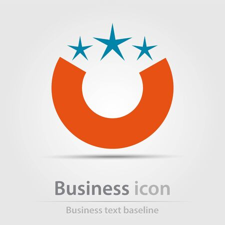 renew.: Originally created business icon for creative design tasks Illustration