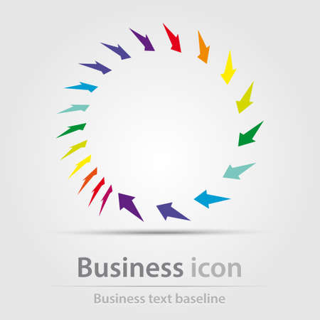 Originally created business icon for creative design tasks Vectores