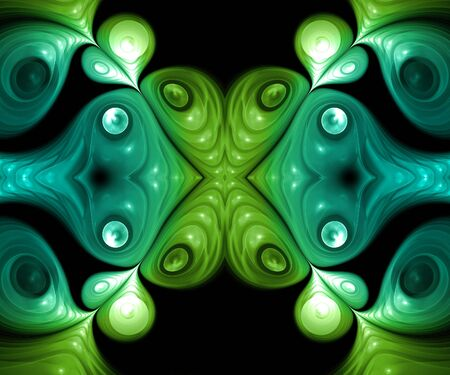 Computer generated fractal artwork for creative art,design and entertainment