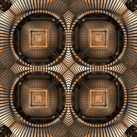 3d render de carreaux en plastique fond avec ornement abstrait en relief Banque d'images - 92014232
