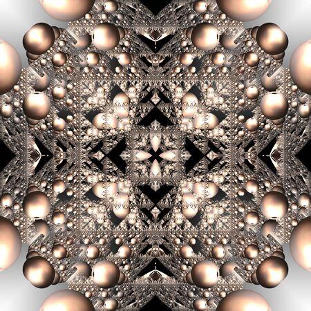 3d render de carreaux en plastique fond avec ornement abstrait en relief Banque d'images - 92014358