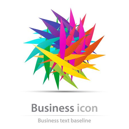 Originally created business icon for creative design tasks Illustration