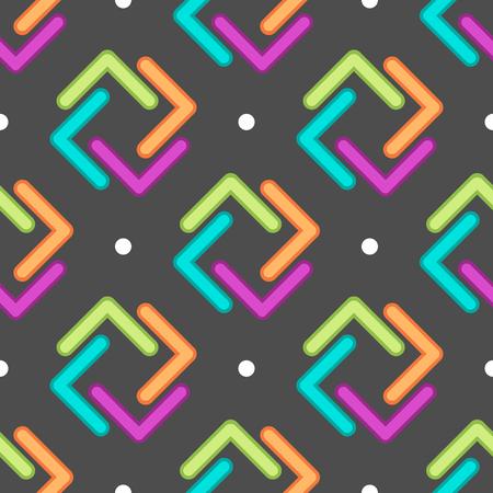 Ornament pattern vector tile