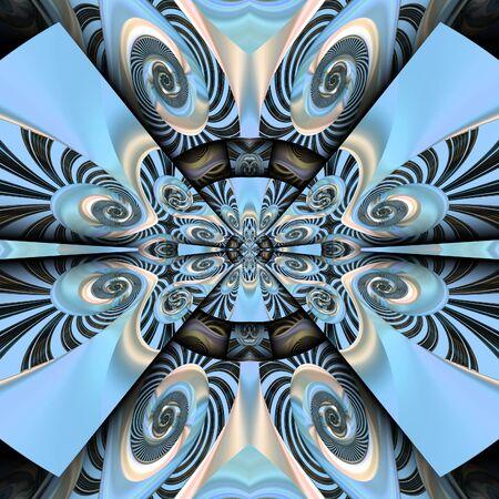 3d render de carreaux en plastique fond avec motif abstrait en relief Banque d'images - 98538985