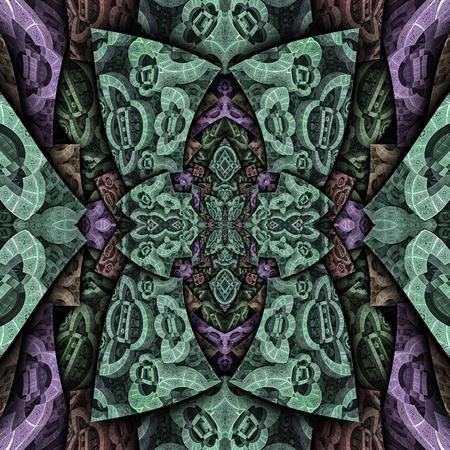 3d render de carreaux en plastique fond avec motif abstrait en relief Banque d'images - 98538987