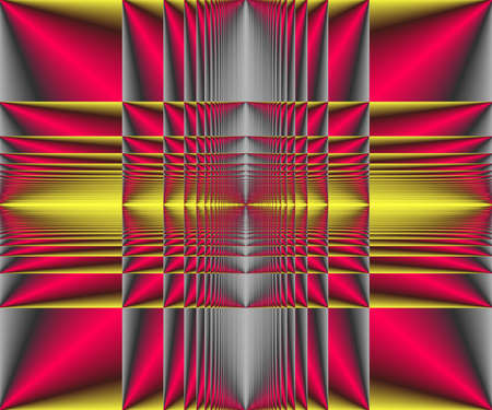 Computer generated abstract colorful fractal artwork for creative design and entertainment Archivio Fotografico - 150625141