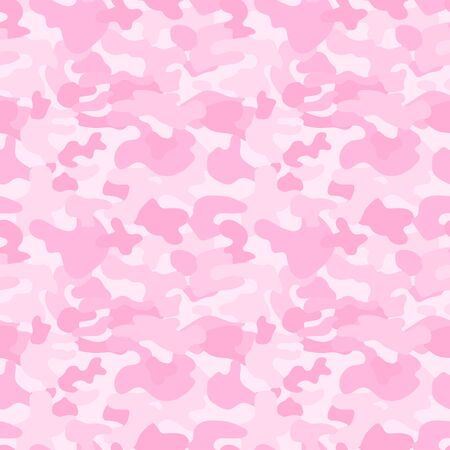 Repeated pink camouflage spots