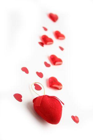 Saint Valentin journ�e de marche  Banque d'images
