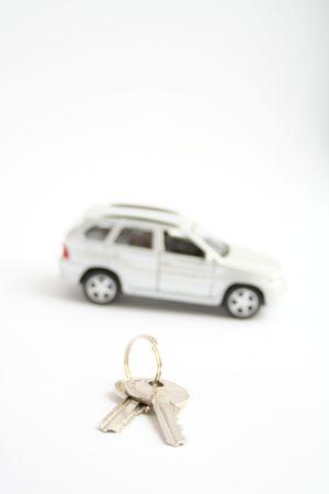 Keys for the car Stock Photo