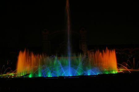 praga: Singing fountains. Krizikovi fountains, Praga
