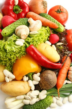 Vegetables mix. Still life Stock Photo - 949681