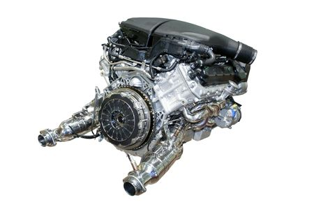 La voiture automatique du moteur isol�