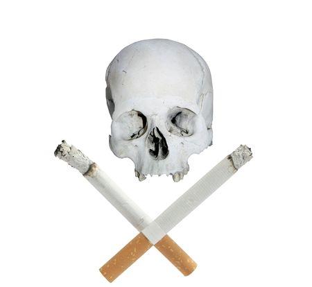 Smoke kills Stock Photo