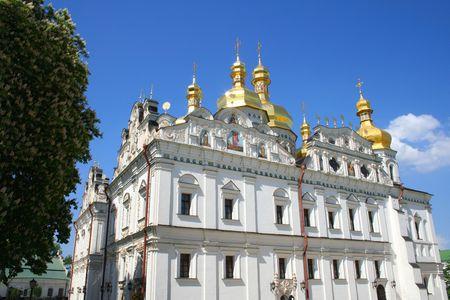 edifice: Assumption  temple, Pecherskaya Lavra - religious edifice, Kiev, Ukraine