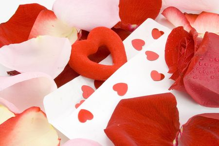 Saint valentine day letter .. with love ! Stock Photo - 2488241