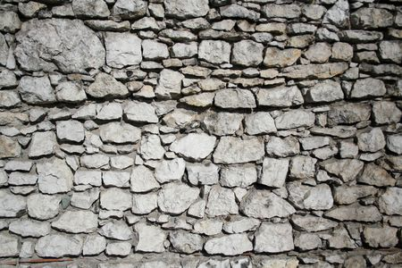 Wall from the stones. Background, texture Stock Photo