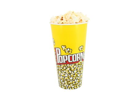 Bucket with pop corn