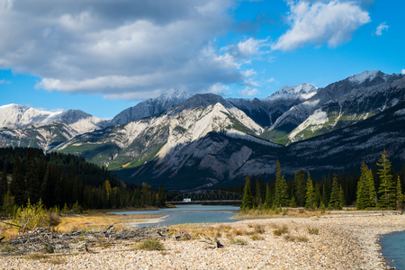 Photo of the beautiful mountain landscape in Canada