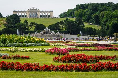 schoenbrunn: Schuenbrunn Palace - former imperial summer residence, Vienna, Austria