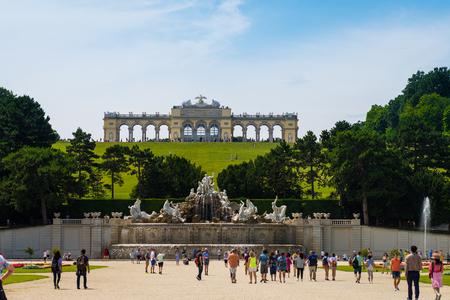 gloriette: Schuenbrunn Palace - former imperial summer residence, Vienna, Austria