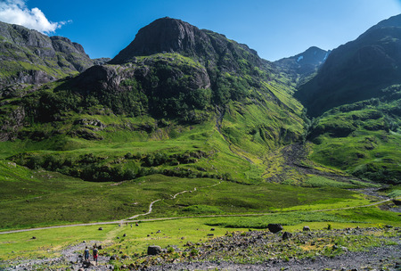 The view of the Three Sisters mountains in Glencoe Valley has been named one of the top views in the UK, beating off competition from mountains and city views in England and Nothern Ireland.