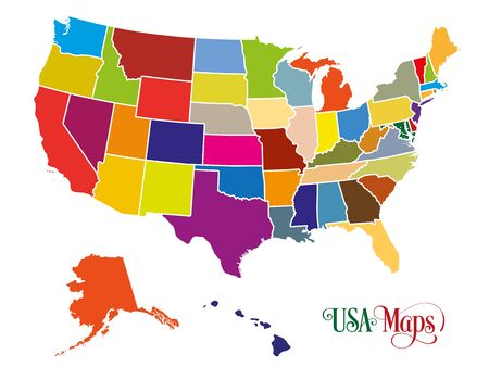 The United States of America (USA), commonly known as the United States (U.S.) or America, is a federal republic composed of 50 states, a federal district, five major self-governing territories, and various possessions. At 3.8 million square miles (9.8 million km2), the United States is the worlds third- or fourth-largest country by total area. Illustration