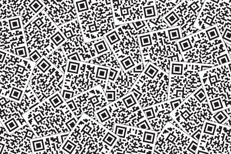 QR Code Background. Quick Response Code for Supermarket, E-commerce, Shop Etc. Banque d'images - 126040751