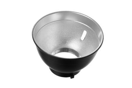 reflector: Isolated stobe reflector Stock Photo