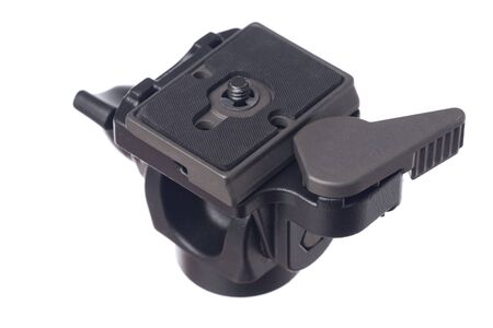 Isolated monopod head with quick release plate