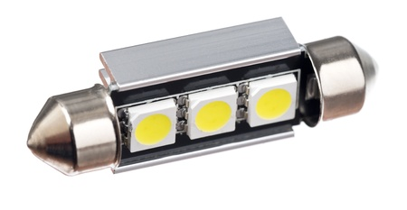 festoon: Isolated shot of a festoon car LED light