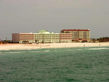 Hotel op Pensacola strand