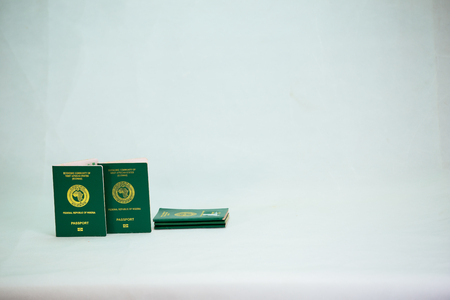 International Passport with local currency notes