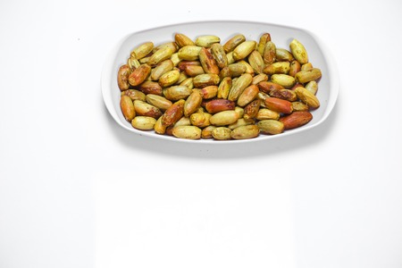 Nigeria local dates Isolated with white background