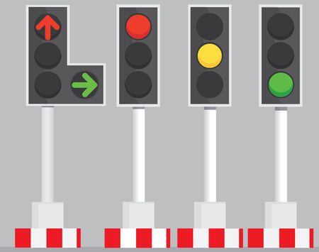 traffic signal: Feux de circulation