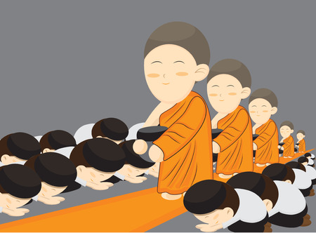 monks: Buddhist monks