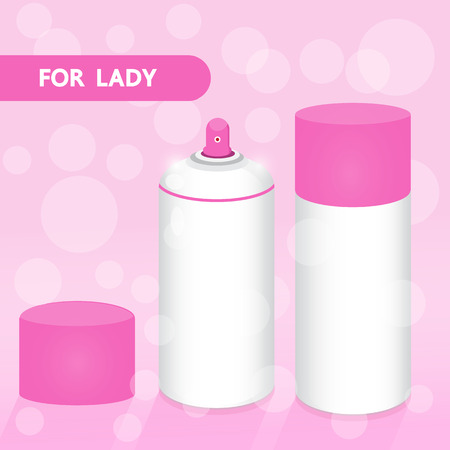 PRODUCT FOR LADY PINK SET Vector