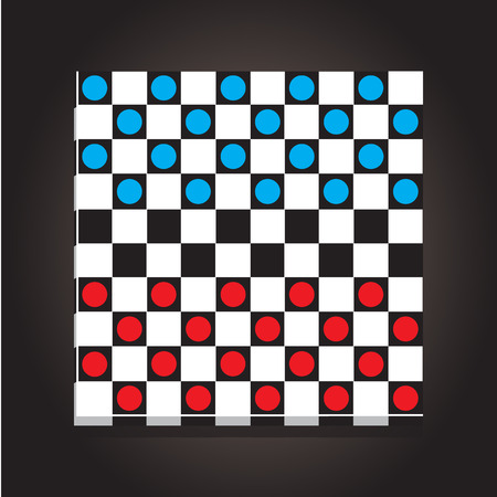 checkers: checkers board