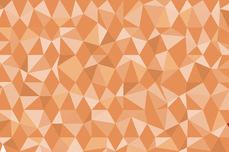 brown: brown poly background Illustration