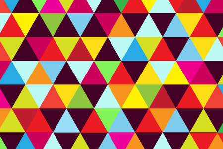 multicolored: Background multicolored triangle