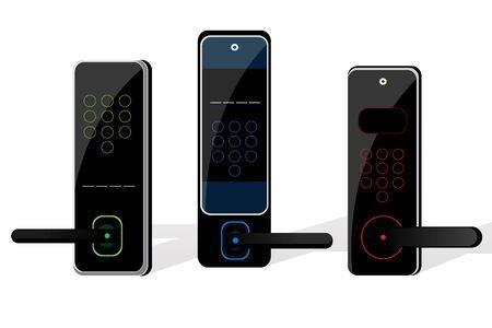 door lock: Home electric door lock