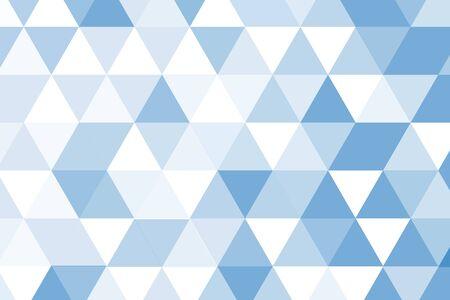 on white: blue white poly