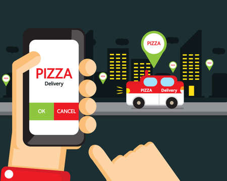 deliver: pizza delivery