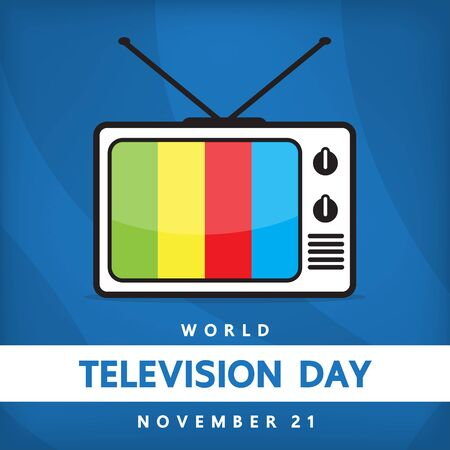 day: Television day Illustration