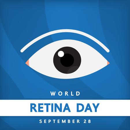 retina: World retina day , Vector design for international day.