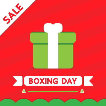 boxing day: Boxing day vector christmas design. Illustration